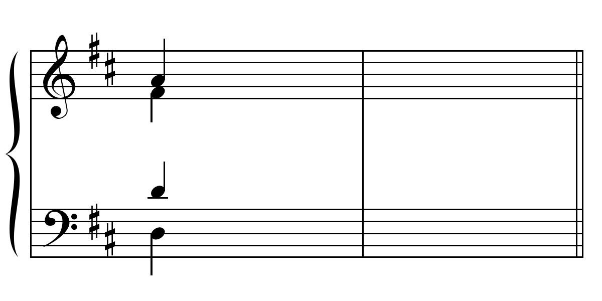 Section 1. Harmonic Dictation (first chord given)